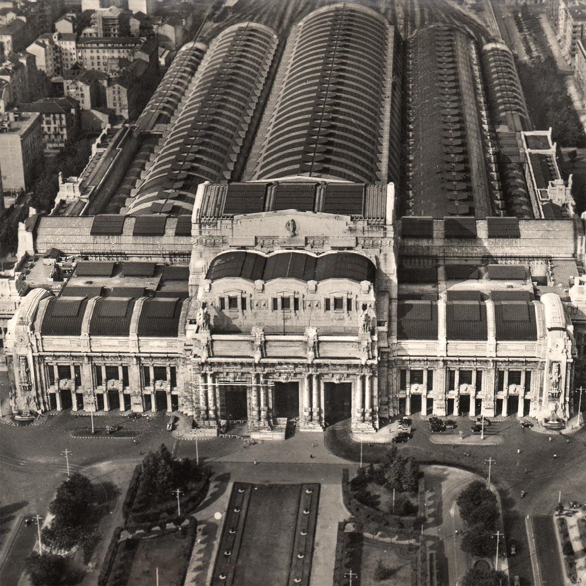 Milano centrale milaans megalomane station met een snufje - Da porta garibaldi a milano centrale ...