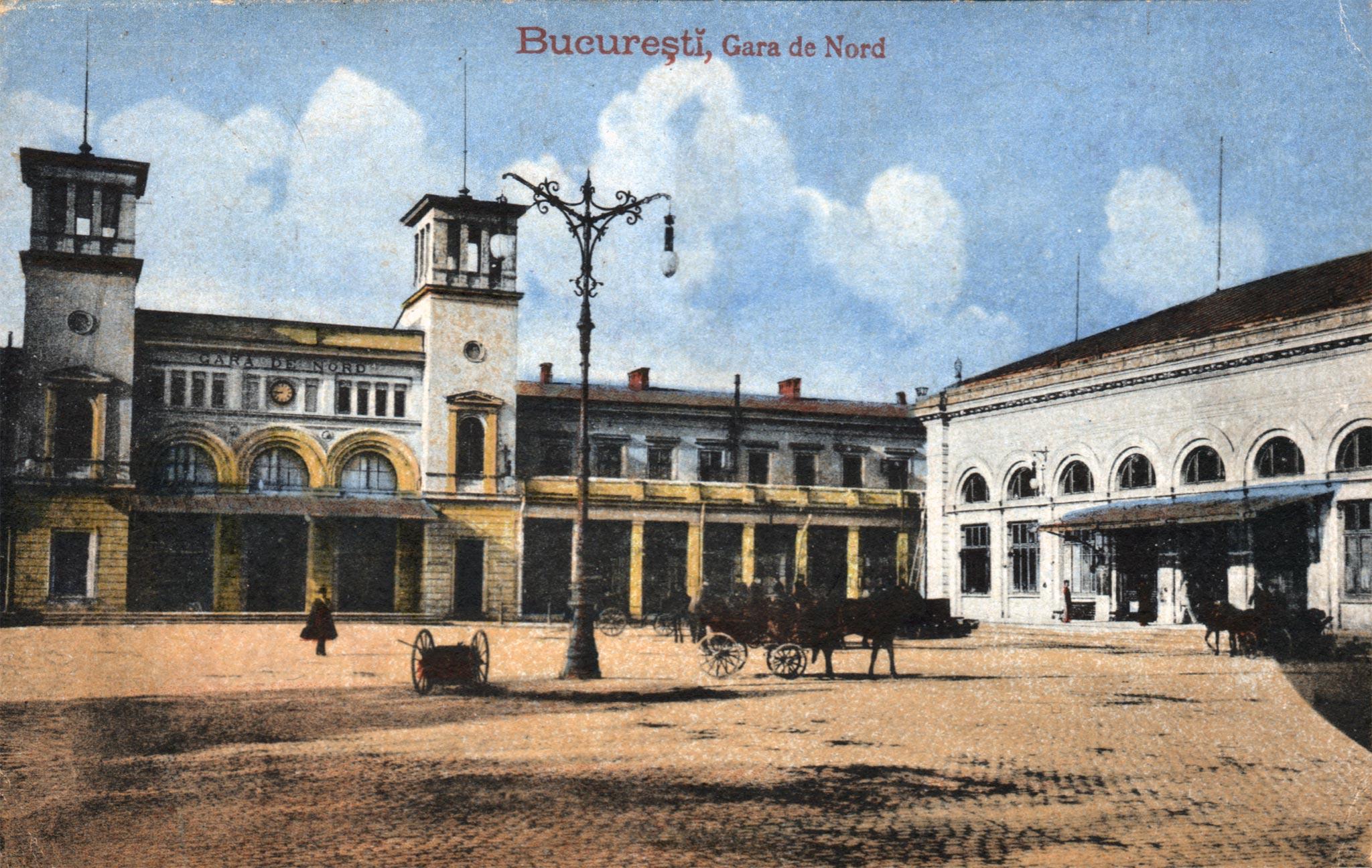 Imagini pentru București Gara de nord 1930